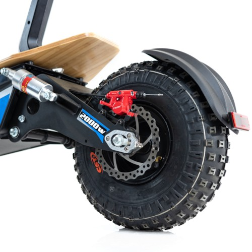 Elscooter EV-Ultra 2000W - Svart/blå