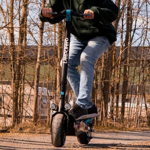 Elscooter Velocifero Minimad Plus 500W - Blå