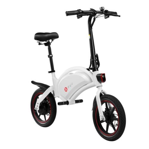 FYNDEX - Elscooter DYU D3F 250W - Vit