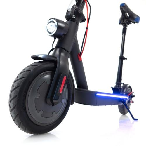 Elscooter Nitrox Alu-8 Flex 250W Bluetooth m sadel -svart