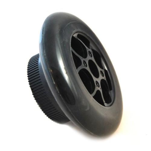 Bakhjul 120W med drivhjul