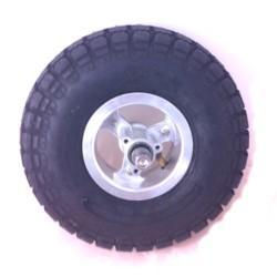Framhjul med däck och slang, 10x3,5-4 elscooter 800W EcoDrive