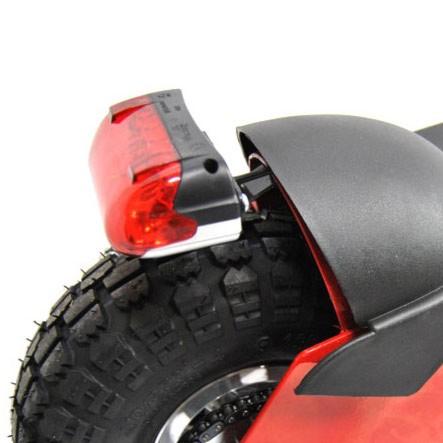Baklampa till elscooter 800W äldre modell (36V)