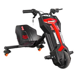 Elscooter Drift Trike 200W Lithium - Röd