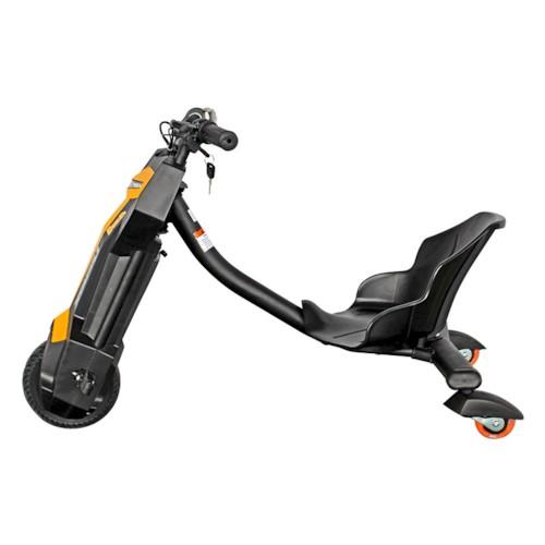 Elscooter Drift Trike 200W Lithium - Gul