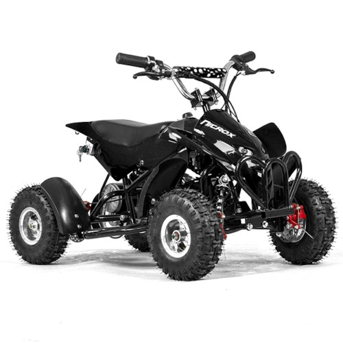 Elektrisk Mini ATV Nitrox 350W V4 - Svart