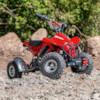 Elektrisk Mini ATV Nitrox 350W V4 - Röd