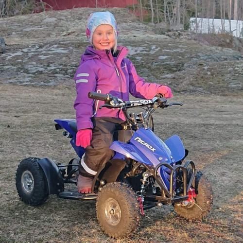 Elektrisk Mini ATV Nitrox 350W V4-3 - Blå