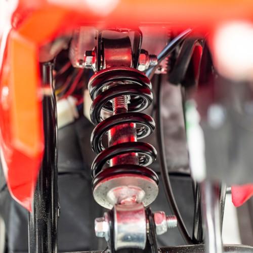 Elektrisk Mini ATV Nitrox 350W V4-3 - Röd