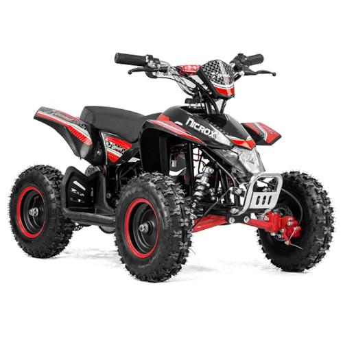 Elektrisk Mini ATV Nitrox Cobra V4 1000W - Röd/svart
