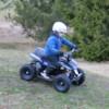 Elektrisk Mini ATV Nitrox Cobra V4-2 1000W - Blå/svart