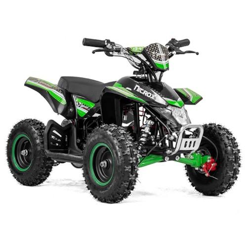 Elektrisk Mini ATV Nitrox Cobra V4-3 1000W - Grön/svart