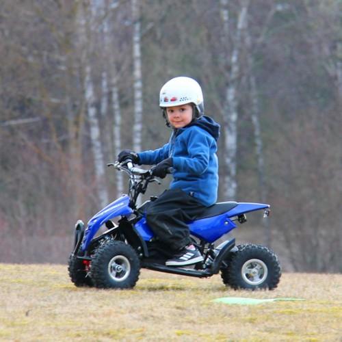 FYNDEX - Elektrisk Mini ATV Nitrox 350W V4-2 - Blå