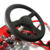 GoKart 1000W, elektrisk - Röd/Svart