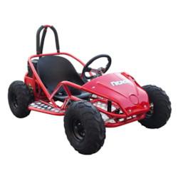 Elektrisk GoKart Nitrox 1000W kardandrift - Röd/Svart