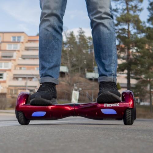 Hoverboard Nitrox Flash - Mörkröd