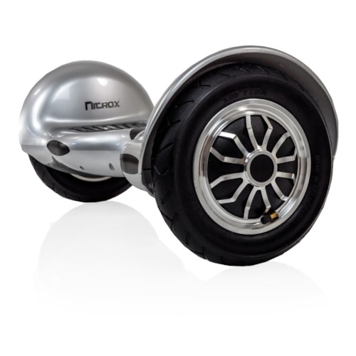 Hoverboard Nitrox XL 10 tum - Silver