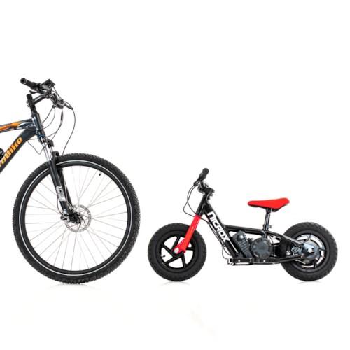 Elscooter Nitrox Sprinter 12 tum - Svart/röd
