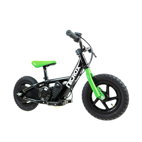 Elscooter Nitrox Sprinter 12 tum - Svart/grön