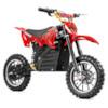 Nitrox Elektrisk Dirtbike 500W - Svart/röd