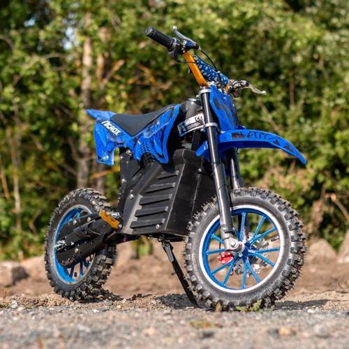 Nitrox Elektrisk Dirtbike 500W - Blå