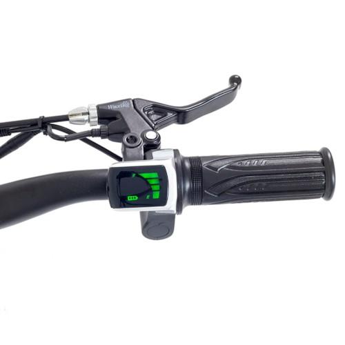 Elektrisk Dirtbike Nitrox Trial 1000W - Vit/blå