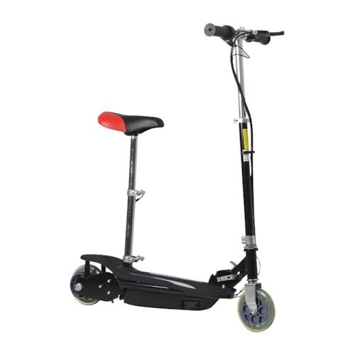 Elscooter Extreme 120 W MED SADEL - SVART