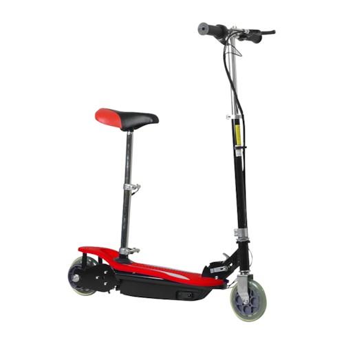 Elscooter Extreme 120 W MED SADEL - RÖD