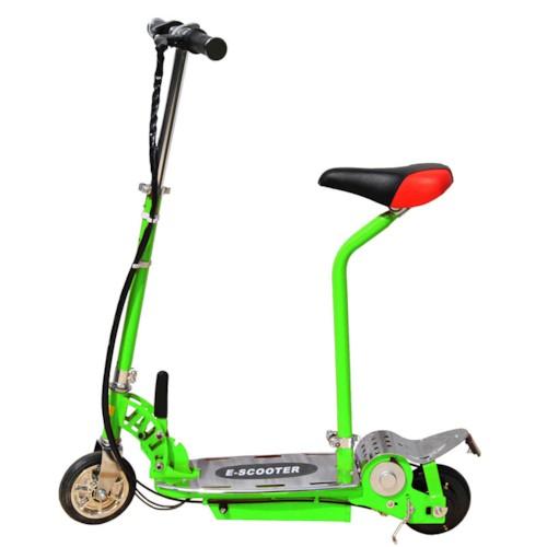 Elscooter 120W med sadel - GRÖN