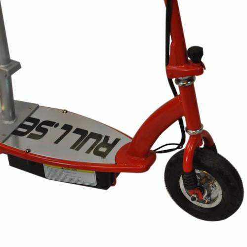 Elscooter 150W med sadel - SVART