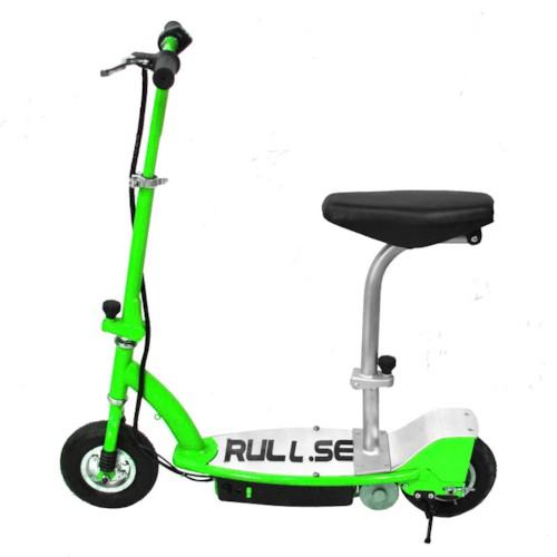 Elscooter 150W med sadel - GRÖN