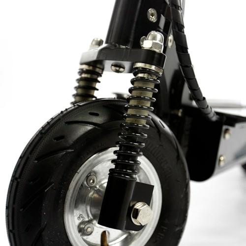 Elscooter LITHIUM 300W med navmotor - SVART