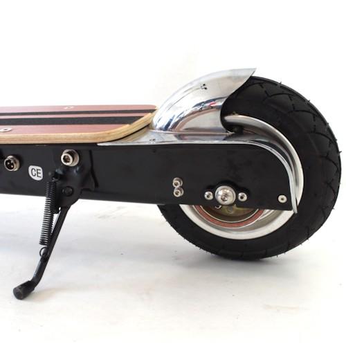 Elscooter LITHIUM 300W med navmotor - ALUMINIUM
