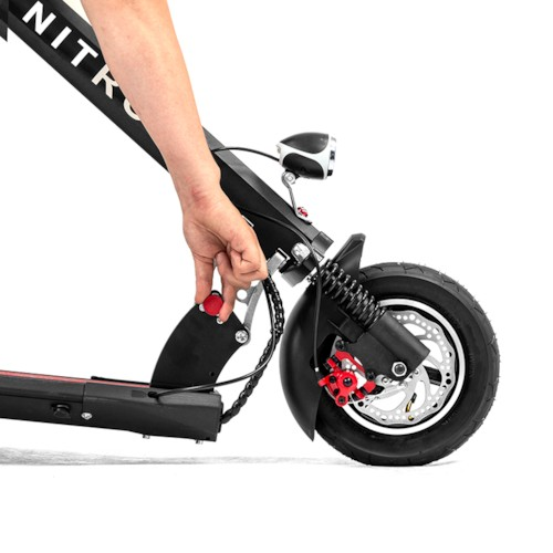 Elscooter Nitrox MyWay Lithium 400W - Svart