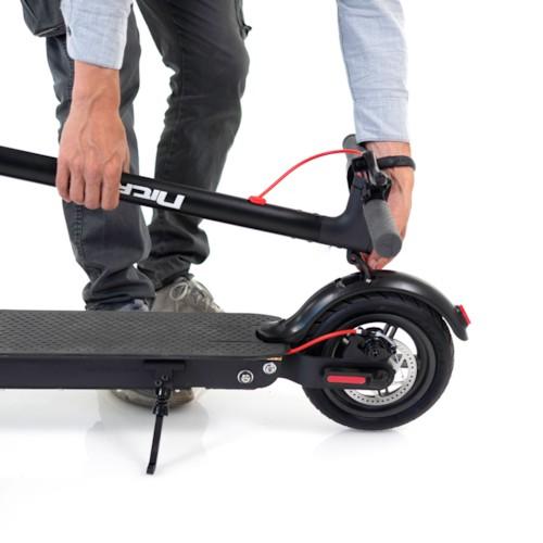 Elscooter Nitrox Alu-8 Flex 250W Bluetooth - svart
