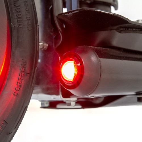 Elscooter Nitrox 350W Lithium 10400Mah - Svart