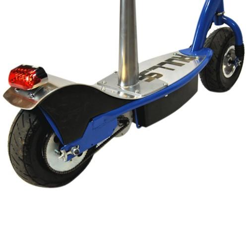 Elscooter 350 W med sadel -SVART