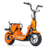 Elscooter 350 W CHOPPER m. lysen - Orange