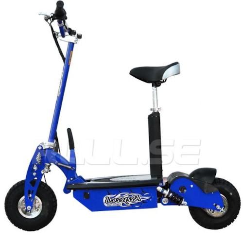 El-scooter 800 W EcoDrive Blå - UTGÅTT