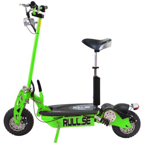 UTGÅTT - Elscooter 800 W Dirt med lysen - GRÖN