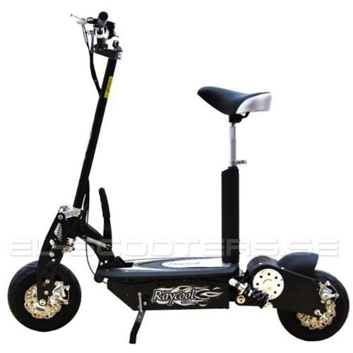 El-scooter 1000 W EcoRide Svart