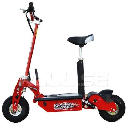 El-scooter 1000 W EcoDrive Röd
