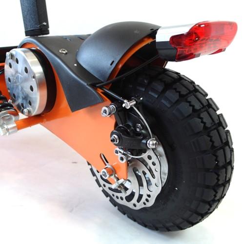 Elscooter 1000 W 48V Dirt med lysen - GRÖN
