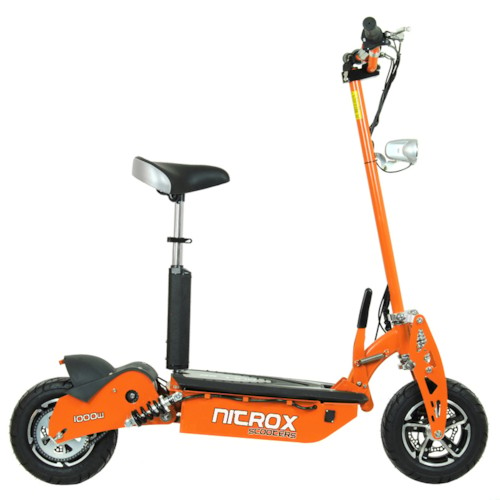 Elscooter 1000W 48V Race - ORANGE