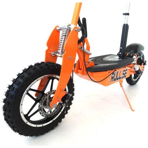 Elscooter 1000W 48V Offroad Edition - SVART