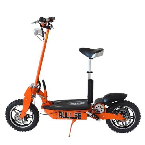 Elscooter 1000W 48V Offroad Edition - ORANGE
