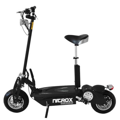 Elscooter 1300W Race Edition - SVART