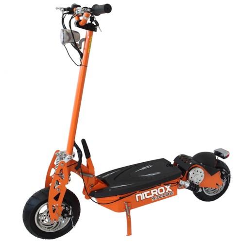 Elscooter 1300W Race Edition - SVART