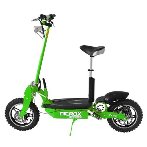 Elscooter 1600W OFFROAD - Grön