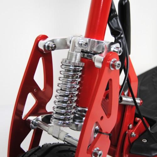Elscooter 2000W 60V Race - Svart